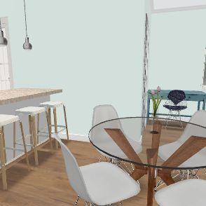 Casinha gh67 cima Interior Design Render