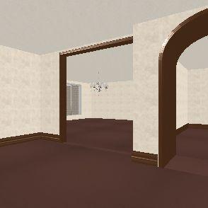The Big Bear Mountain Homestead Plaza. Interior Design Render