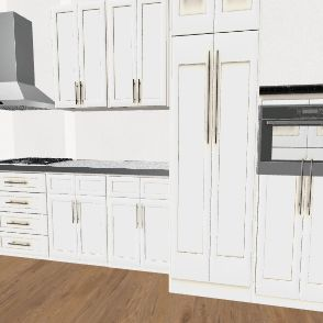 Cucina Robino Interior Design Render