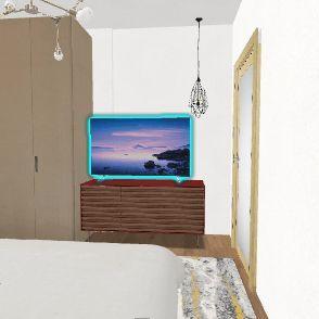 Design3 del Гардероб2 Interior Design Render