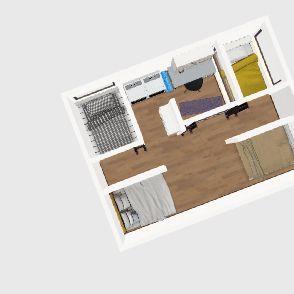 Group Home Interior Design Render