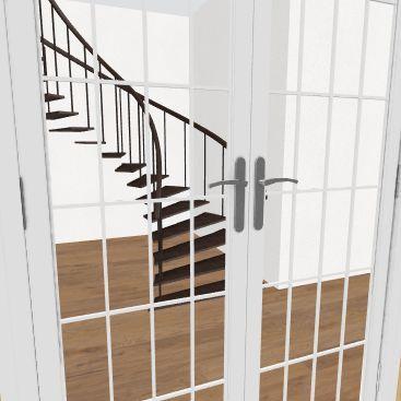 Patrikas Round laiptai 1a Interior Design Render
