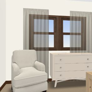 Nursery Interior Design Render