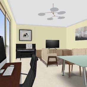 zona nueva Interior Design Render