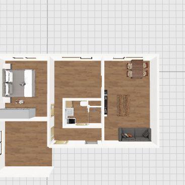 Půdorys 1 Interior Design Render