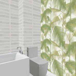 ola łazienka góra Interior Design Render