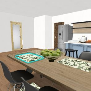 Practice House Interior Design Render