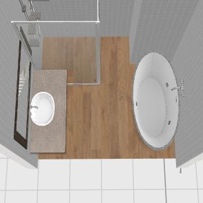 łazienka  L Interior Design Render
