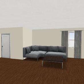 Small Family Home Plan Interior Design Render