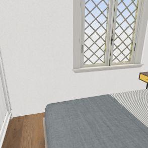 primera planta sin tabique entrada Interior Design Render