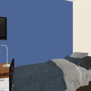 COLLAGE DORM Interior Design Render