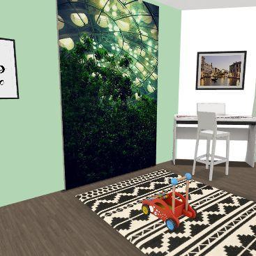 My Dream Home Second Floor Interior Design Render