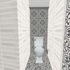 с/у Interior Design Render