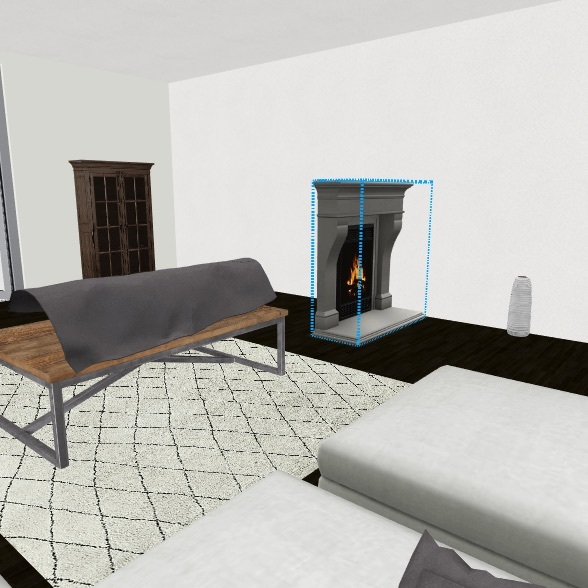 Future home Interior Design Render