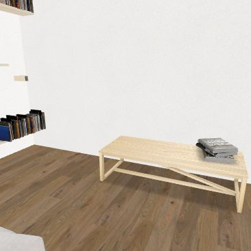 Kamar kak Purwa Interior Design Render
