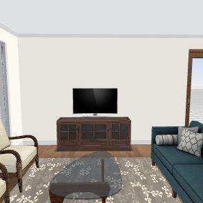 BeachCat w/ Stairs 32x32 Interior Design Render