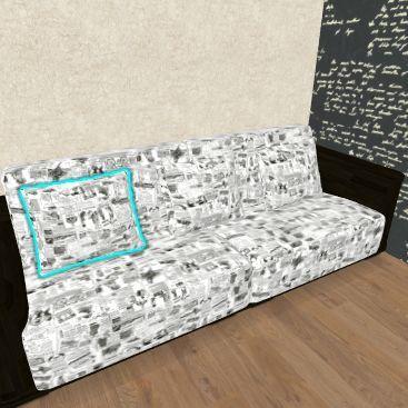 диван Interior Design Render