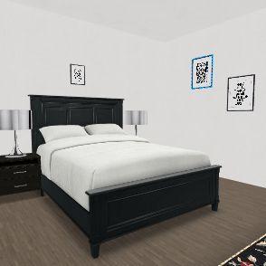 3 bed 2 bath apartment Interior Design Render