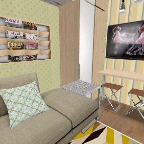 CASA CUBO Interior Design Render