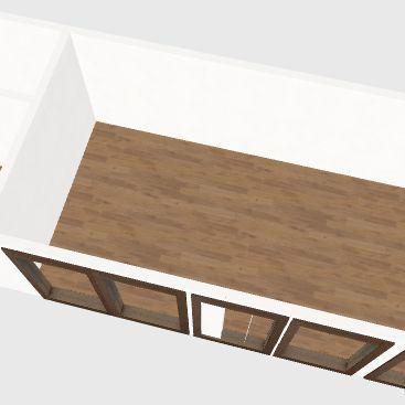 Vikendica Interior Design Render