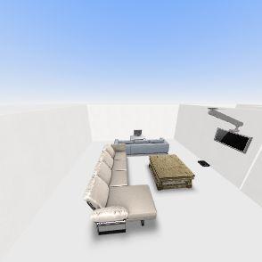 Modern House Floor Plan  Interior Design Render
