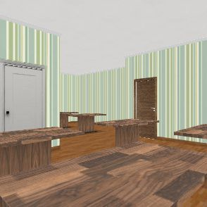 my place to eat Interior Design Render