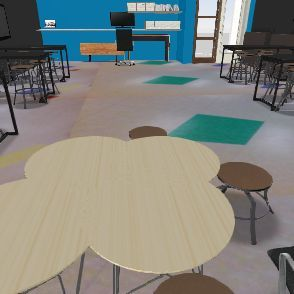 S.T.E.M. Lab Project Interior Design Render