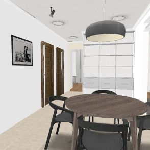 4Room-Decorated Jon Interior Design Render