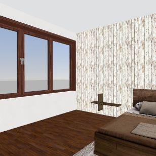 Client Room Interior Design Render