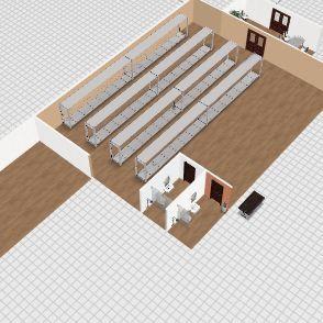 samira trabalho Interior Design Render