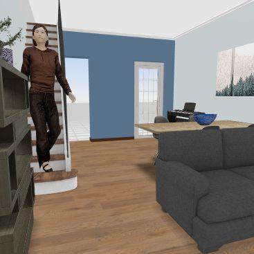 Rinky's Living Room 02 Interior Design Render