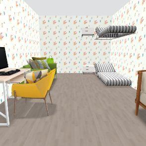 Casa de bebes / Creche Interior Design Render