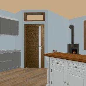 Studio Cabin Nicole V2 Interior Design Render