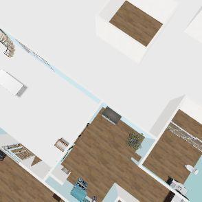 Ami's Dream House Interior Design Render