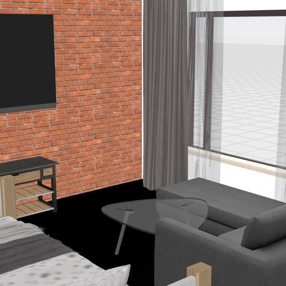 Приозерный Interior Design Render
