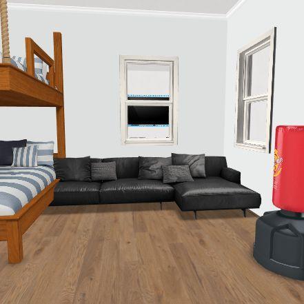 Guys House Interior Design Render