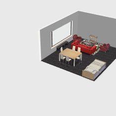 Taverna divano fronte Interior Design Render