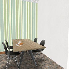 beauty vloger Interior Design Render