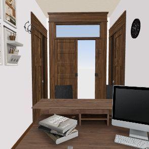 RECEPCIÓN CL Interior Design Render