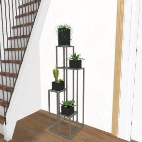 Upstairs Interior Design Render