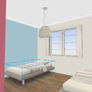 rita children's bedroom Interior Design Render