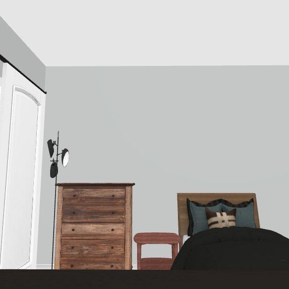 Ali's Current Room Interior Design Render