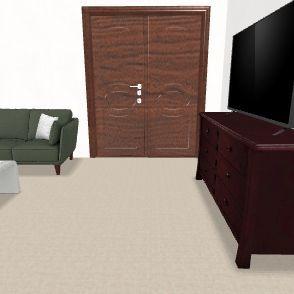 viale Nettuno 1p 1a Interior Design Render