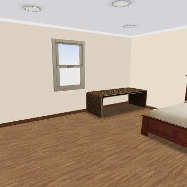 Bedroom Small Interior Design Render