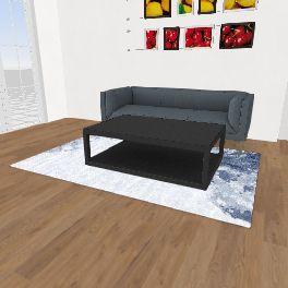 Apartment home Interior Design Render