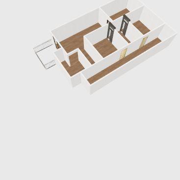 2nd Floor Home Interior Design Render