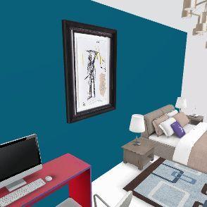 cham1 Interior Design Render