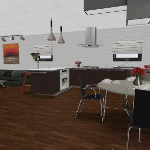Multi-Purpose Space Interior Design Render