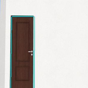P's Bedroom Interior Design Render