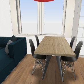 Mateusza mieszkanko Interior Design Render